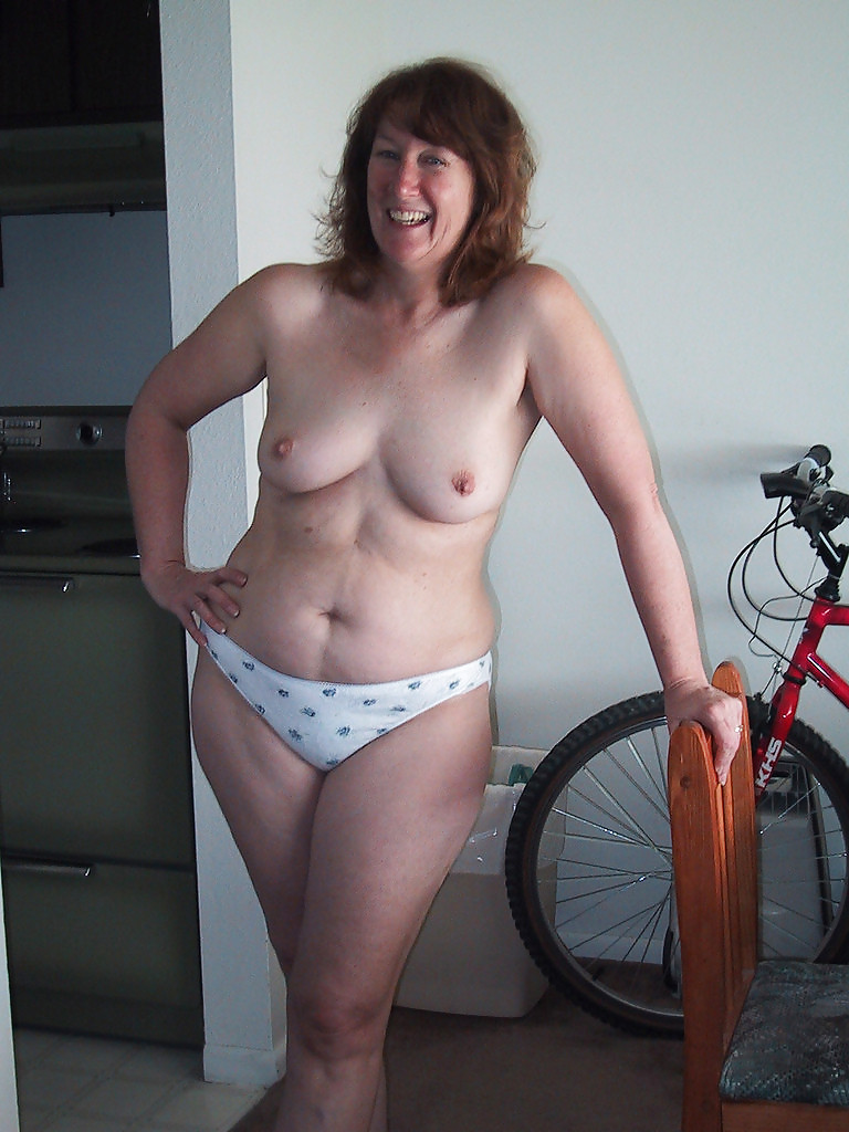 busty mature takes first bbc video