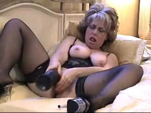 lesbian step daughter gives mom a massage