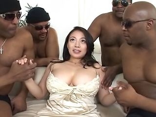 big tit japanese milf deepthroat swallow
